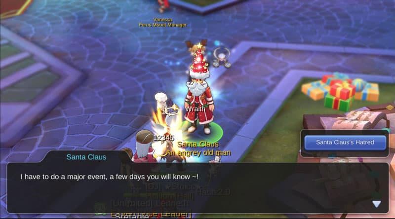 Santa Claus NPC.