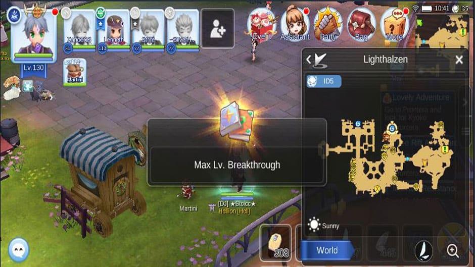 3rd Job Level 61-70 Peak Breakthrough Quest in Ragnarok Mobile