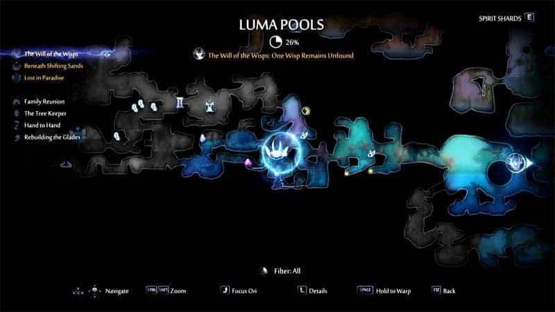 Luma Pools Gorlek Ore Location Number 31