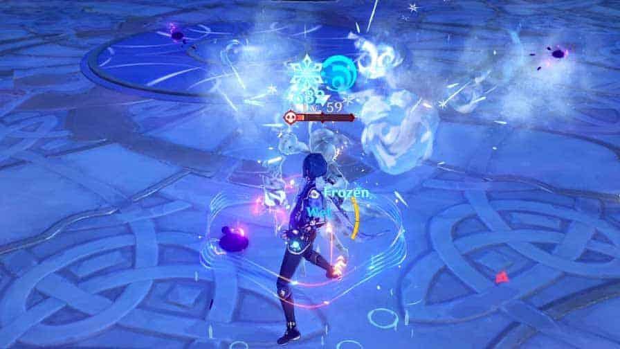 Frozen Elemental Reaction