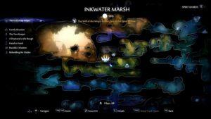 Inkwater Marsh Spirit Trial Location
