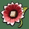 Gambler's Brooch flower artifact icon.