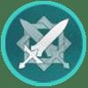 Garyuu Bladework - Normal Attack icon.