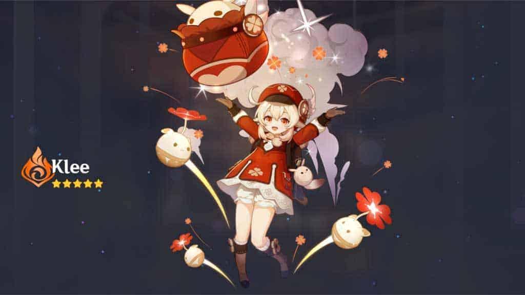 Klee Wish Genshin Impact Art