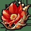 Lavawalker's Resolution flower artifact icon.