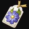 Scholar's Bookmark flower artifact icon.