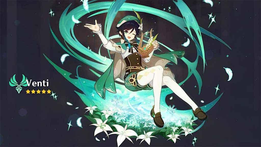 Venti Genshin Impact Character Profile